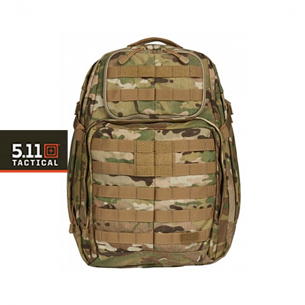 [5.11 Tactical] RUSH24™ BACKPACK - 5.11 러쉬 24 백팩_MULTICAM