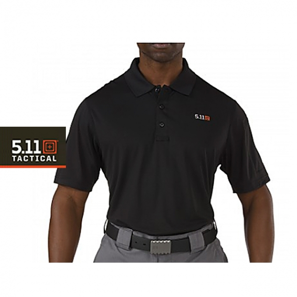 5.11 택티컬 피나클 반팔 폴로 (블랙) / [ 5.11 Tactical ] PINNACLE SHORT SLEEVE POLO (BLACK)