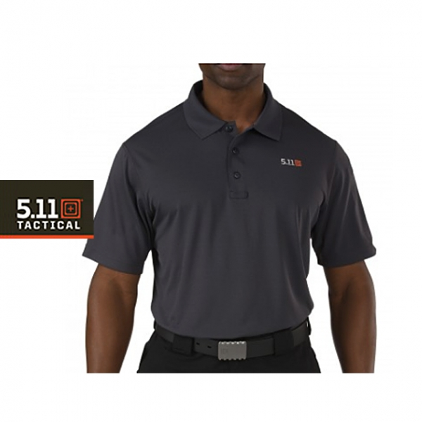 5.11 택티컬 피나클 반팔 폴로 (차콜) / [ 5.11 Tactical ] PINNACLE SHORT SLEEVE POLO (CHARCOAL)