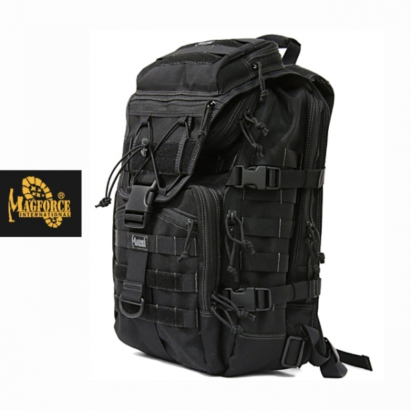 [Magforce] Harrier Laptop Backpack - 맥포스 해리어 랩탑 백팩_Black
