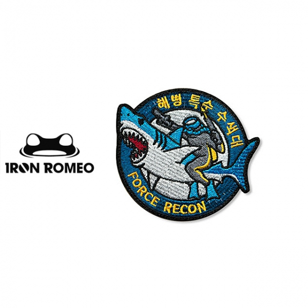 [IRON ROMEO] IR093 Force Recon Blue 패치