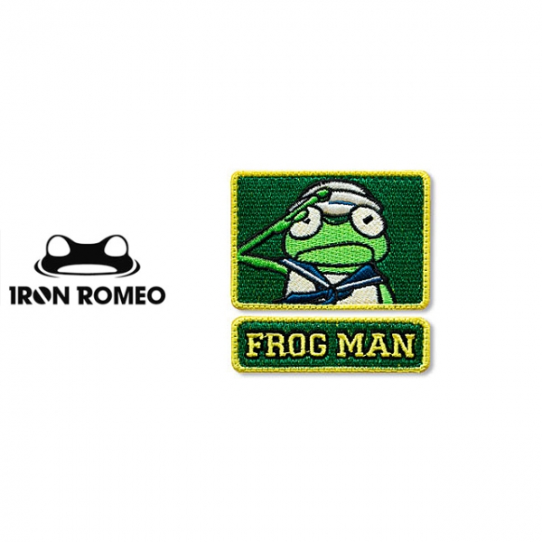 [IRON ROMEO] IR104 FROGMAN CARTOON 2015 (2IN1) 패치