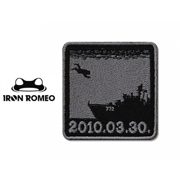 [IRON ROMEO] IR188 20100330_BLACK 패치