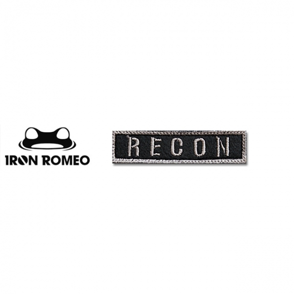 [IRON ROMEO] IR212 RECON_타이포_BK 패치
