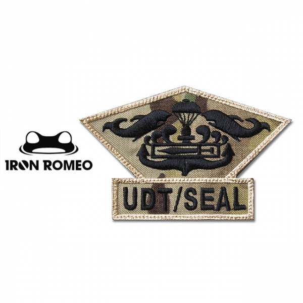 [IRON ROMEO] IR273 UDT/SEAL CHEST MEDAL_UDT/SEAL 흉장_멀티캠 패치