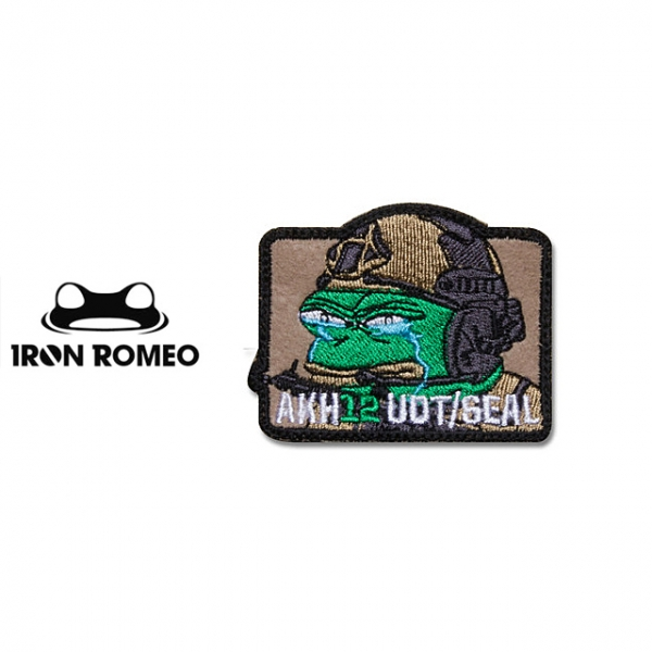 [IRON ROMEO] IR276 Crying Frogman_PEPE(아크12진 UDT/SEAL 비공식패치) 패치
