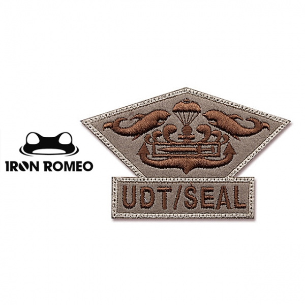 [IRON ROMEO] IR299 UDT/SEAL CHEST MEDAL_UDT/SEAL 흉장_TAN 패치