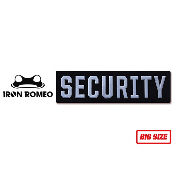 [IRON ROMEO] IR324 SECURITY REFLECTIVE Big (시큐리티 반사 대) 패치