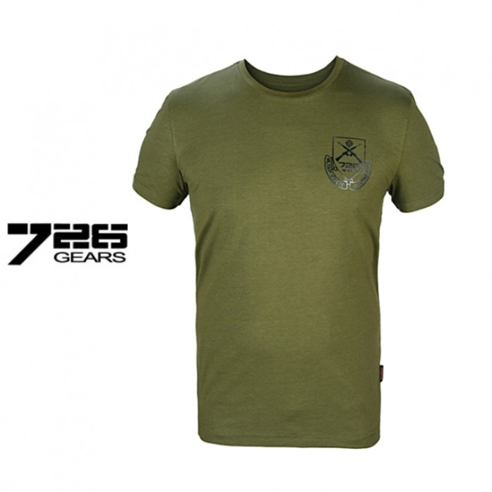 [726.Gear] 726 기어 슈팅 클럽 택티컬 티셔츠 - 726 Gear Shooting Club Tactical T Shirt_Olive Drab