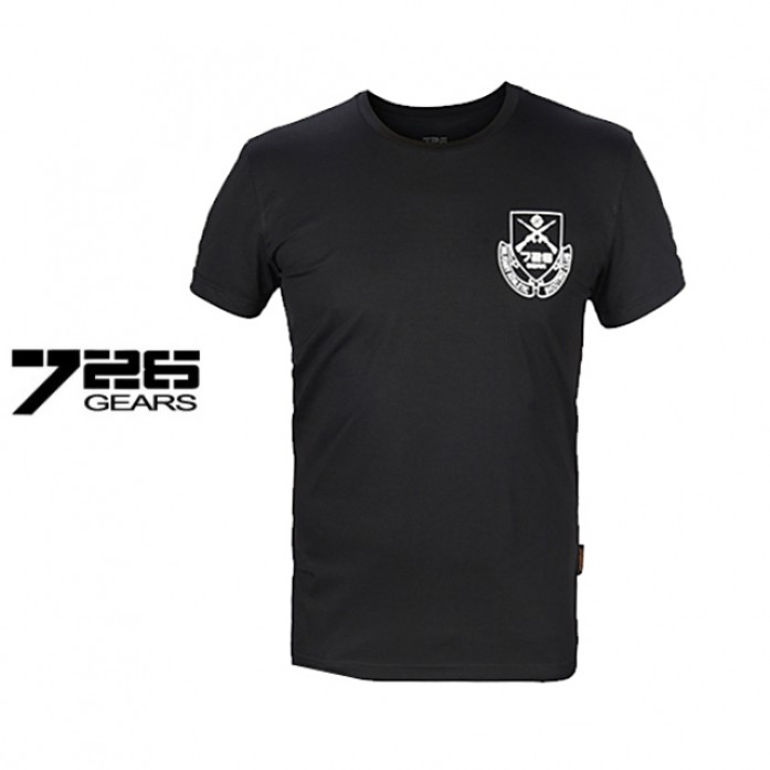[726.Gear] 726 기어 슈팅 클럽 택티컬 티셔츠 - 726 Gear Shooting Club Tactical T Shirt_Black