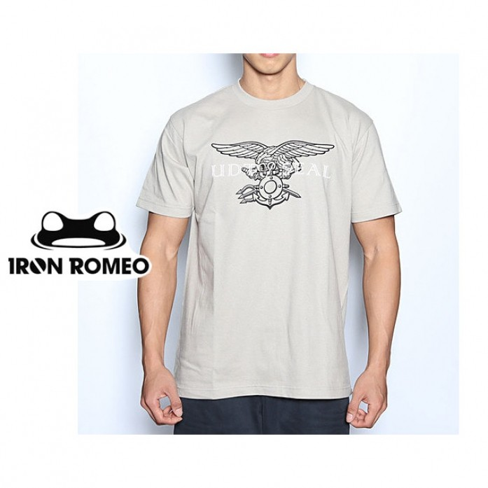 [IRON ROMEO] 유디티씰 티셔츠_UDT/SEAL T-shirt_Silver Tan