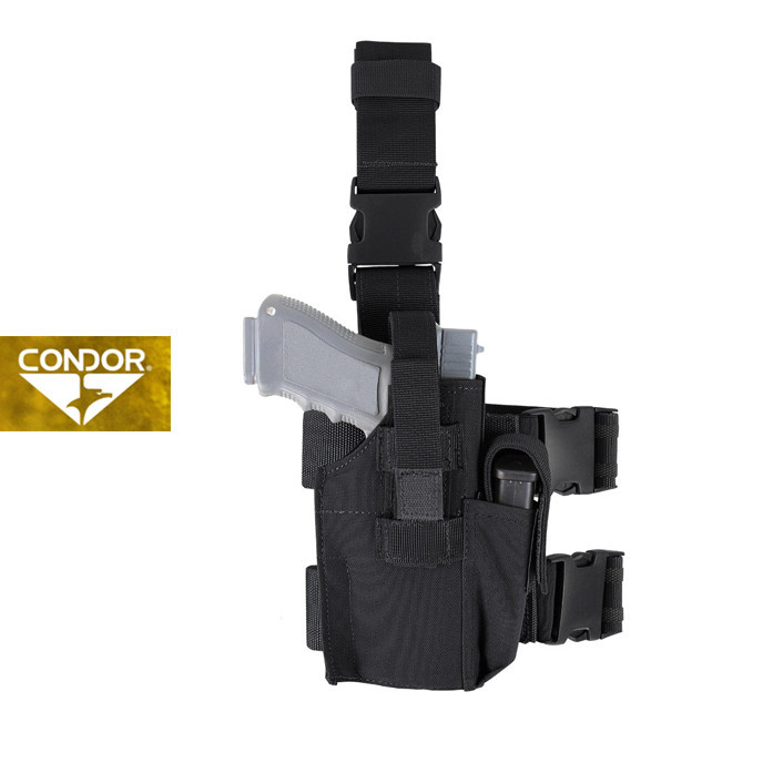 [Condor] TLH TACTICAL LEG HOLSTER 콘도르 택티컬 레그 홀스터_BLACK