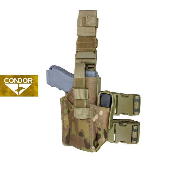 [Condor] TLH TACTICAL LEG HOLSTER 콘도르 택티컬 레그 홀스터_MULTICAM
