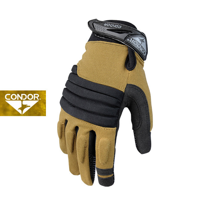 [Condor] 226 STRYKER PADDED KNUCKLE GLOVE_TAN