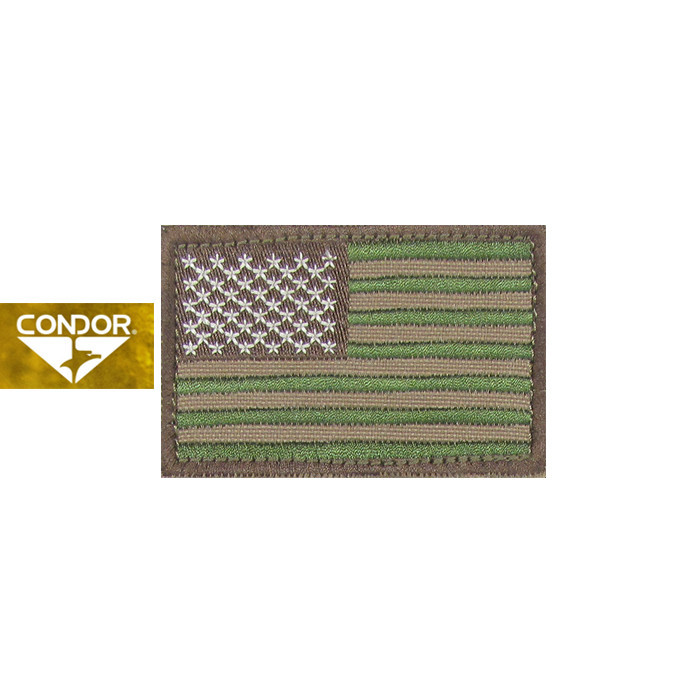 [Condor] 230 US FLAG PATCH 콘도르 US 플래그 패치_MULTICAM