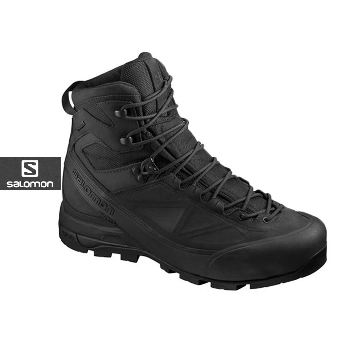 [SALOMON] X ALP MTN GTX FORCES 살로몬 X ALP MTN 고어텍스 포스_BLACK