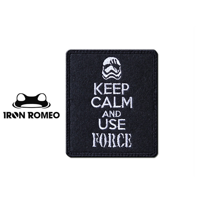 [IRON ROMEO] IR557 KEEP CALM USE MAGFORCE 패치